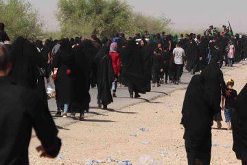 راهپیمایی عاشقان حسینی در شهرستان گتوند + گزارش تصویری
